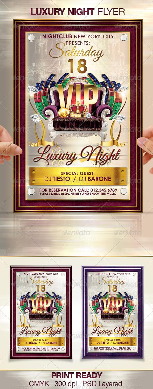 GraphicRiver Luxury Night 4004232