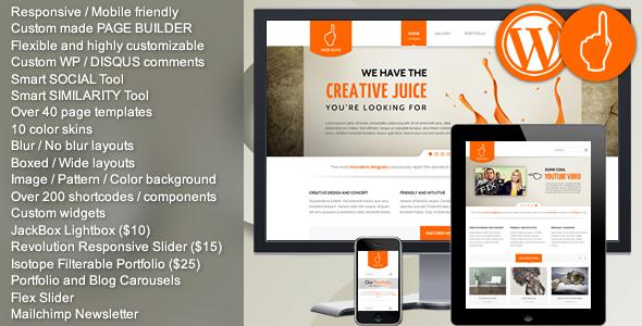 ThemeForest Wise Guys Responsive Multi-purpose WordPress 4114230
