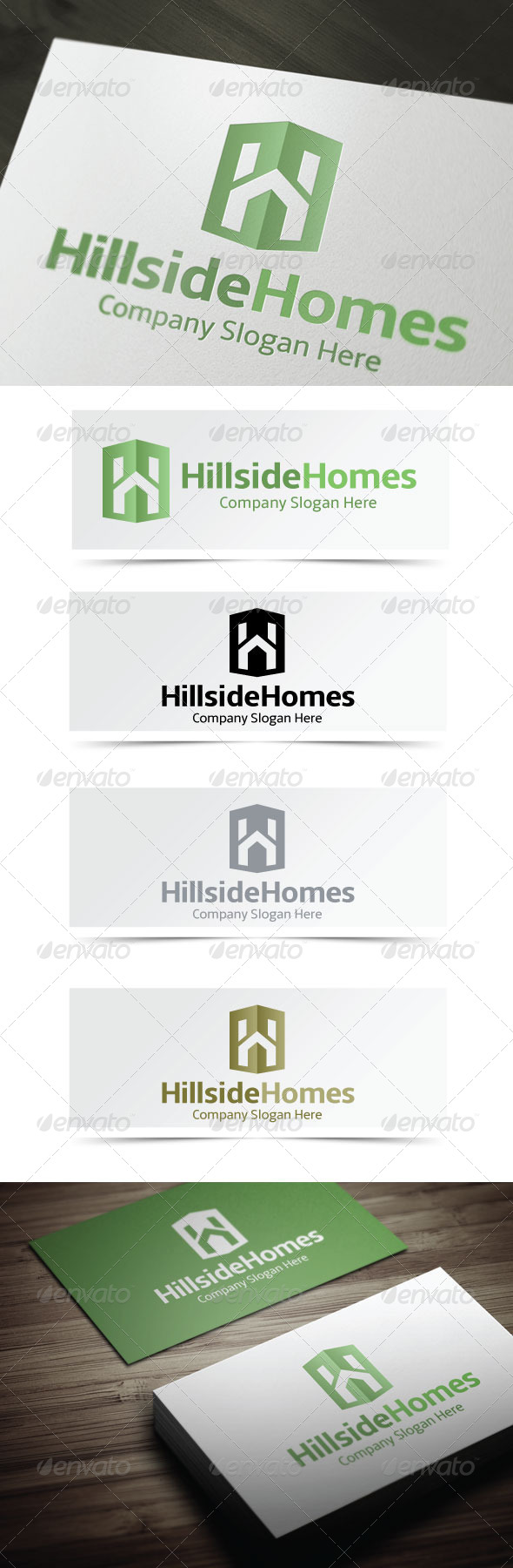 GraphicRiver Hillside Homes 4135164