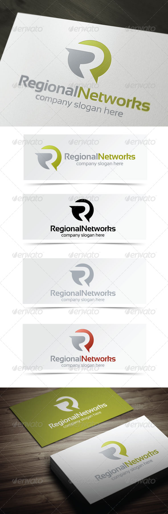 GraphicRiver Regional Networks 4135189