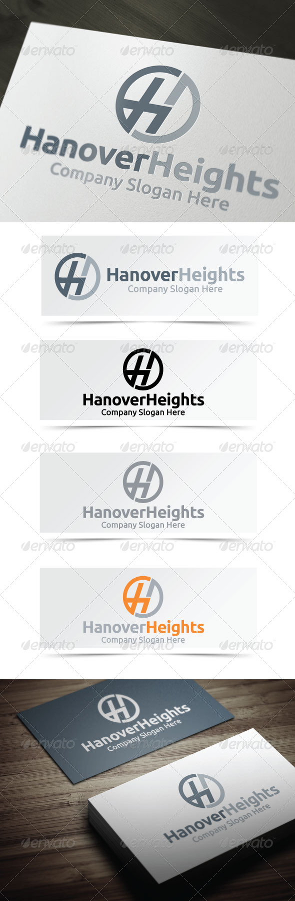 GraphicRiver Hanover Heights 4135197
