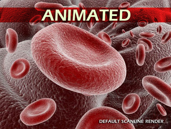 3DOcean Red Blood Cells Animated 4135419