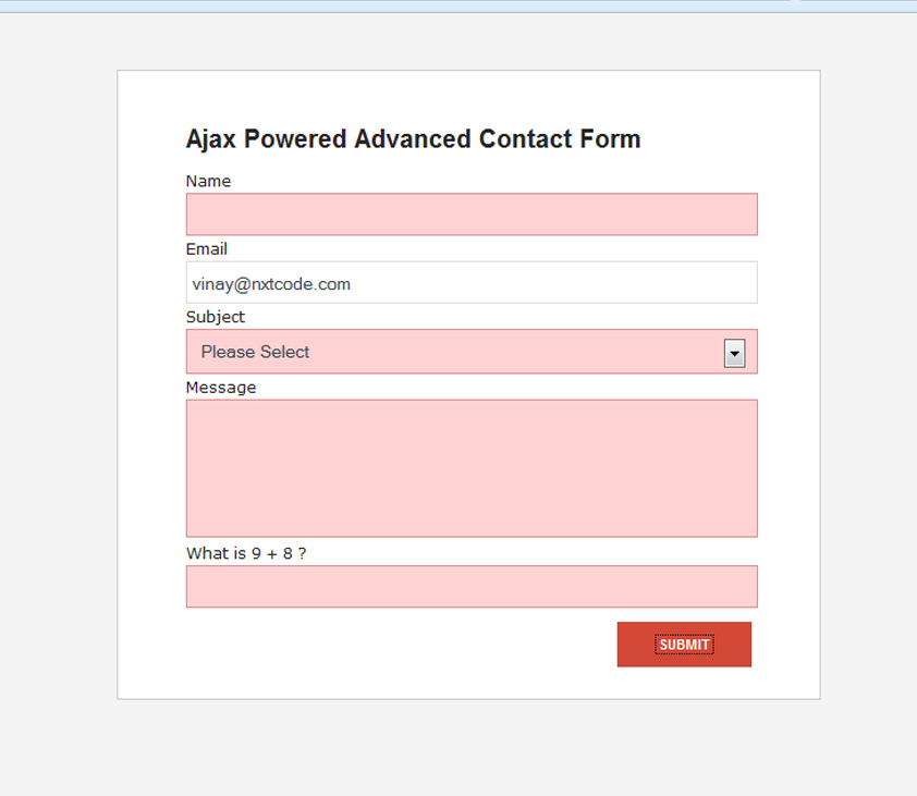 how to add contact form in opencart