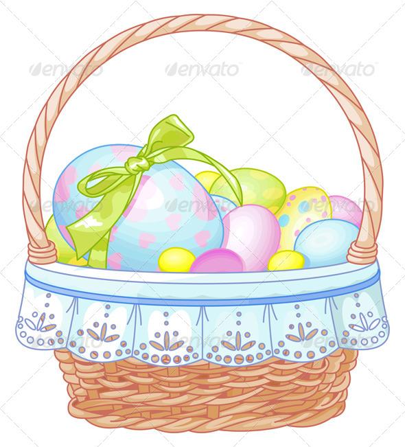 GraphicRiver Easter Basket 4135801