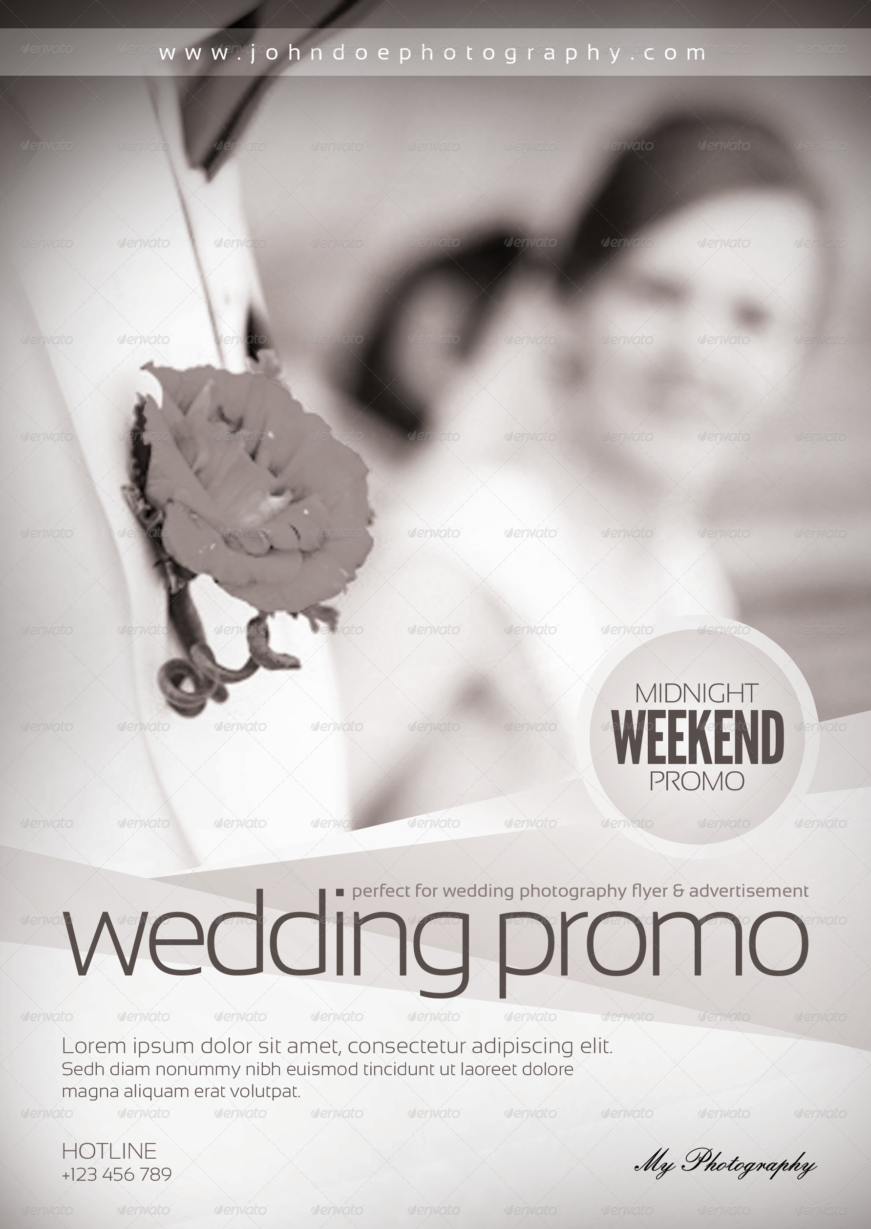 Wedding Photography Flyer Template by Mousecow – Wedding Flyer
