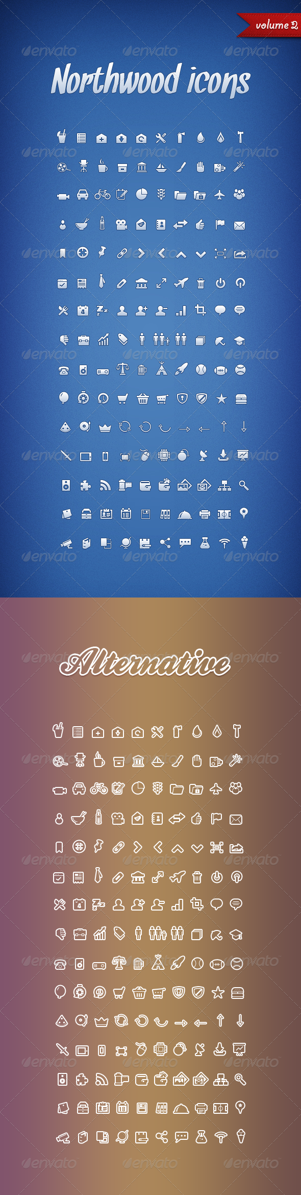 Northwood Icons Volume 2 - Web Icons