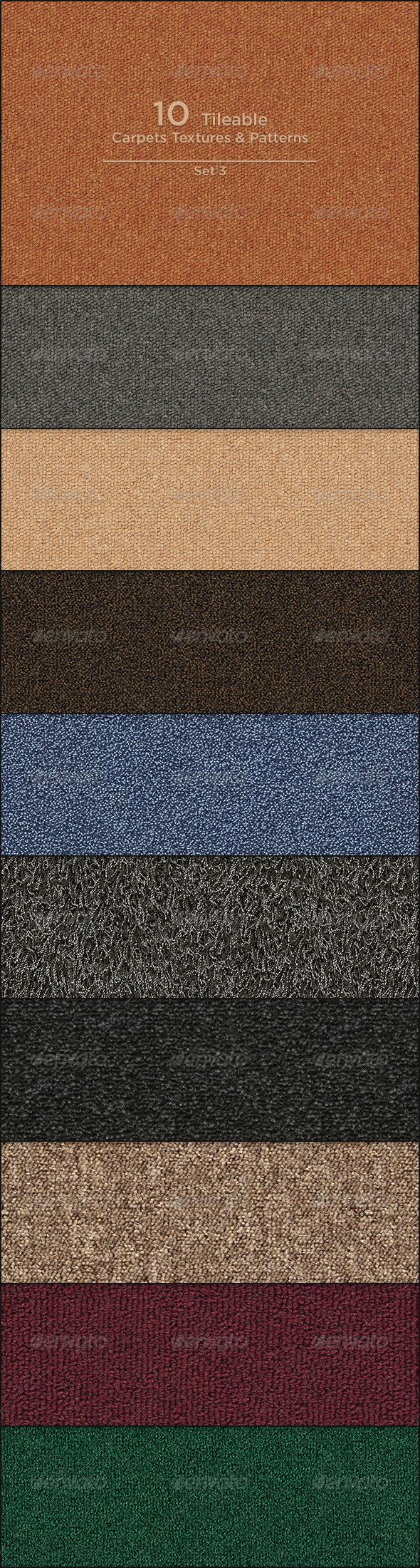GraphicRiver 10 Tileable Carpet Textures Patterns 4137908