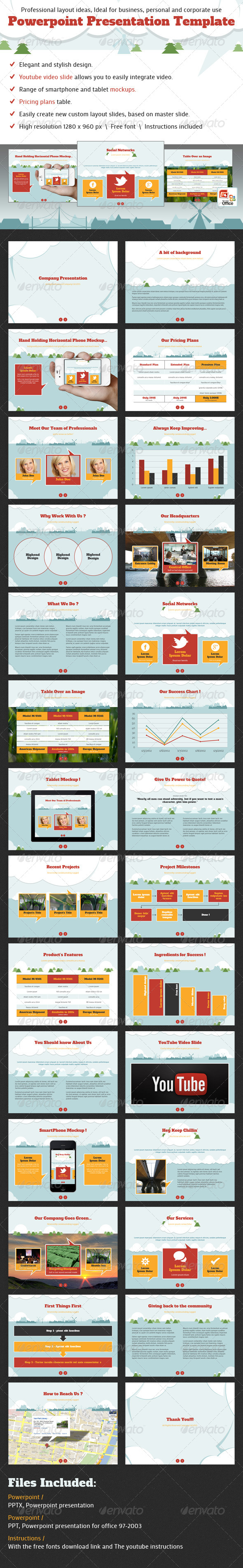 GraphicRiver Chris Powerpoint Presentation Template 4009393