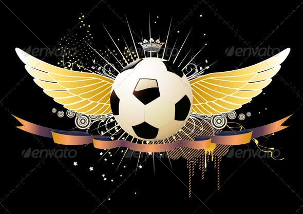 GraphicRiver football soccer concept 4138547