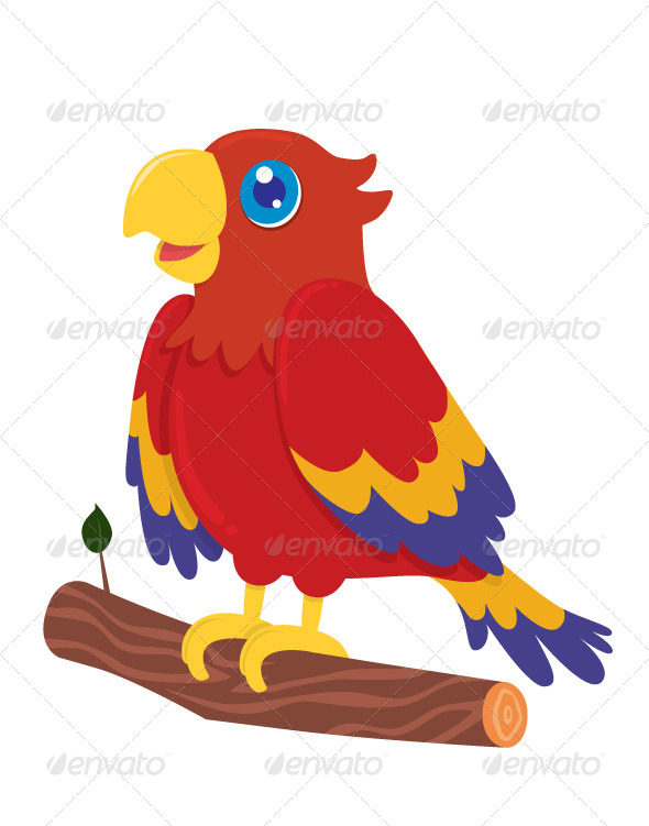 GraphicRiver Parrot 4138945