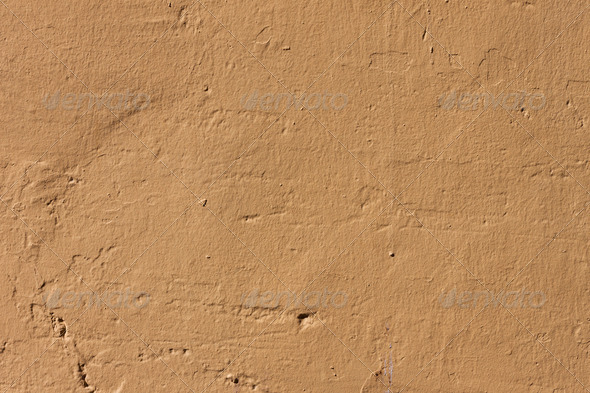 PhotoDune Yellowed wall background 4152536