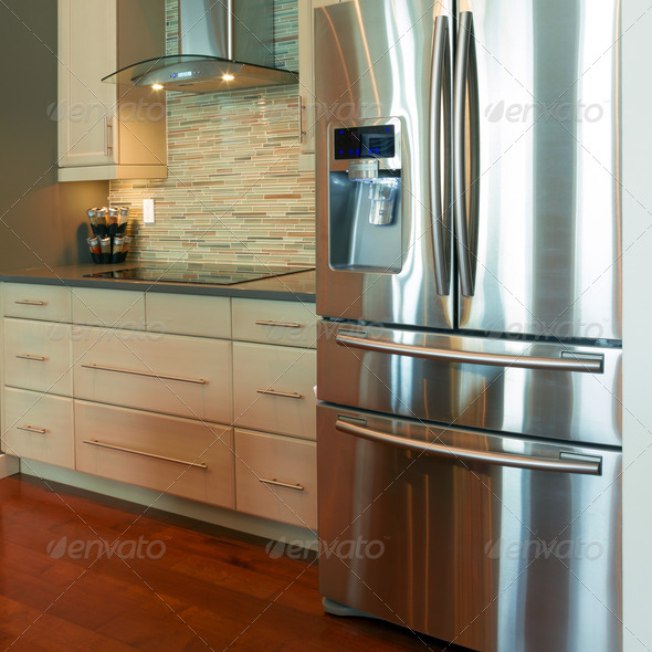 Kitchen Interior Design - Stock Photo - Images