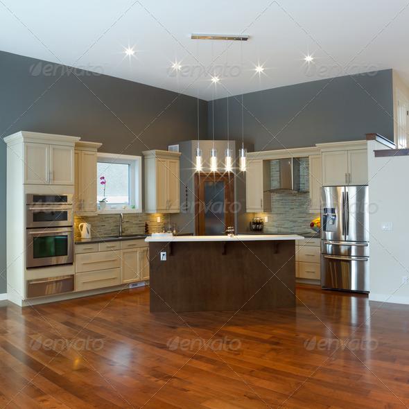 Interior kitchen Design - Stock Photo - Images