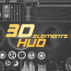 31 Hud/Infographic Elements - VideoHive Item for Sale