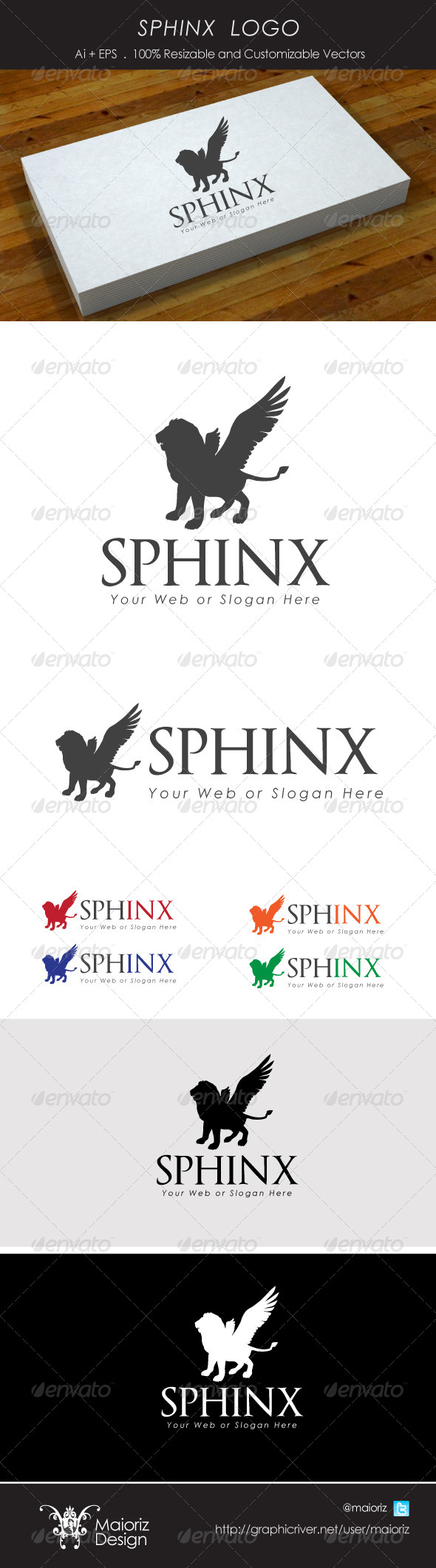 GraphicRiver Sphinx Logotype 4045302
