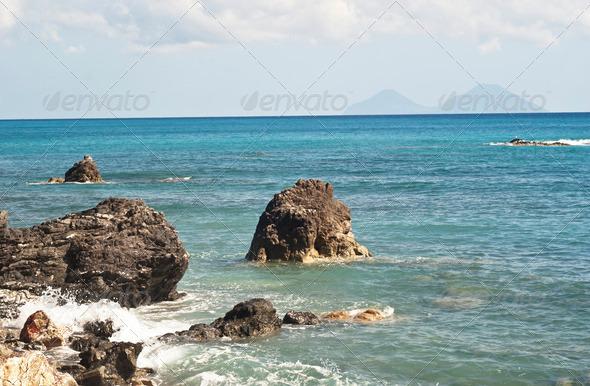 PhotoDune Brolo beach Messina Sicily 4141301