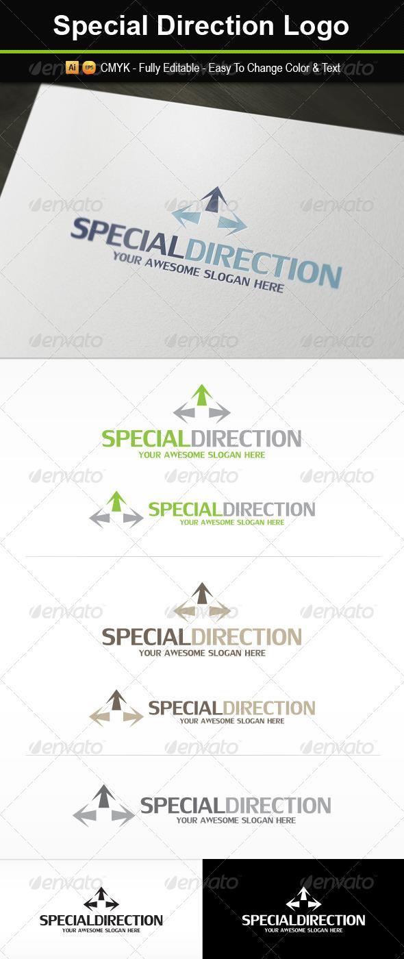Special Direction Logo - Symbols Logo Templates