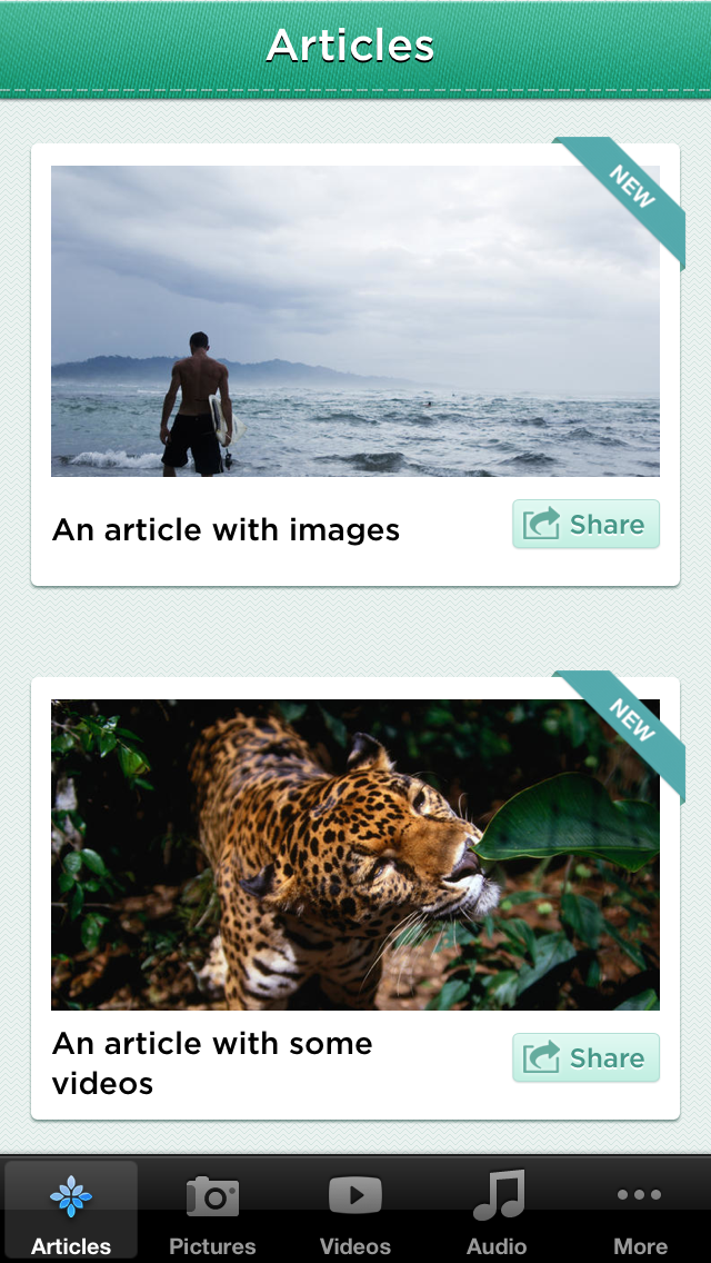 Emerald : Full iPhone App