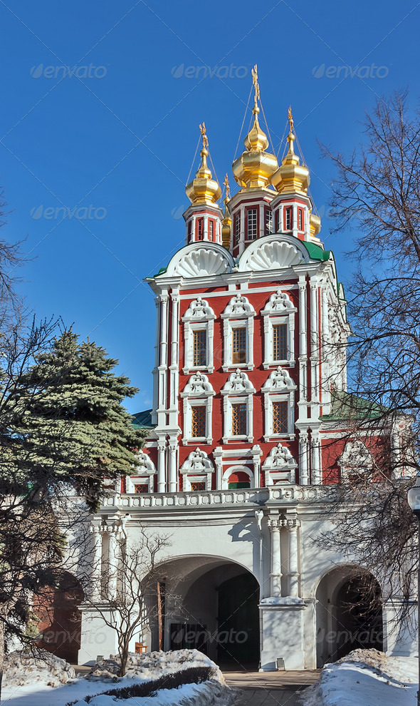 PhotoDune Novodevichy Convent Moscow Russia 4141391