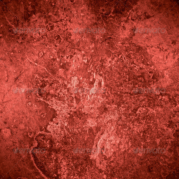 PhotoDune red old rust metal plate background 4141372