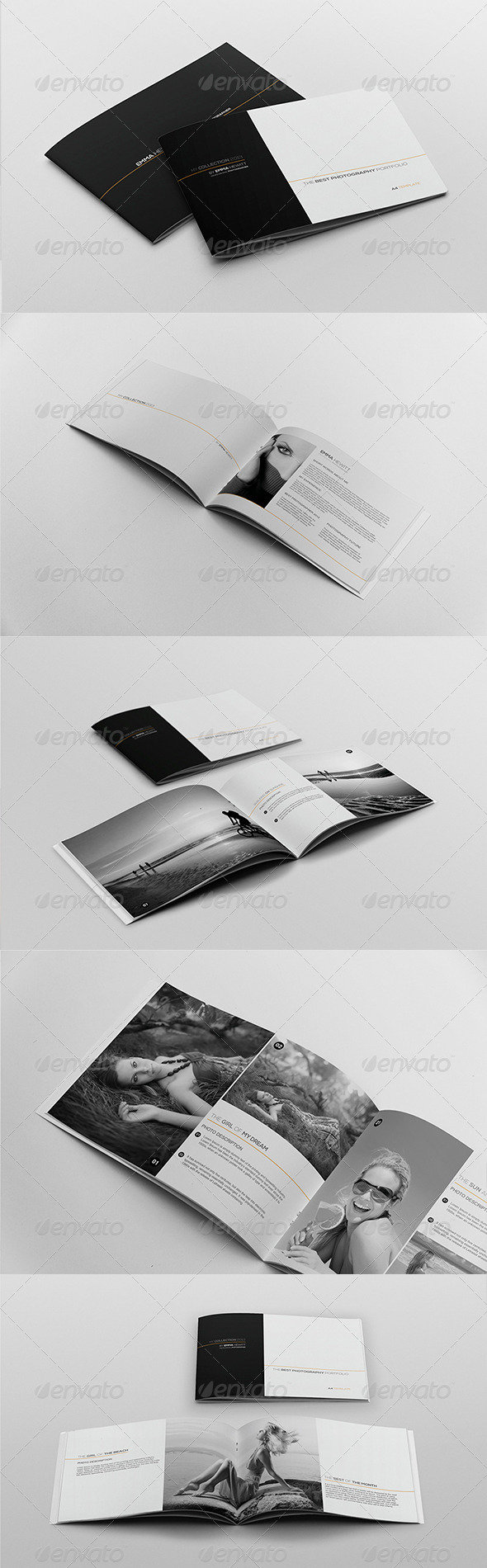 My Collection Portfolio Template - Portfolio Brochures