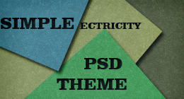 Simple Electricity PSD Theme