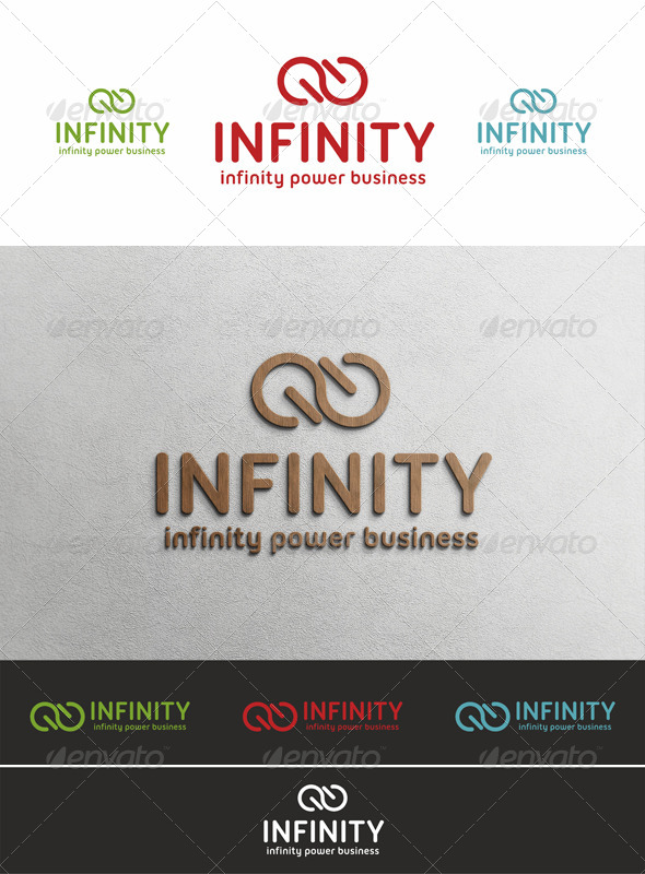 GraphicRiver Infinity Power Logo Template 4142982