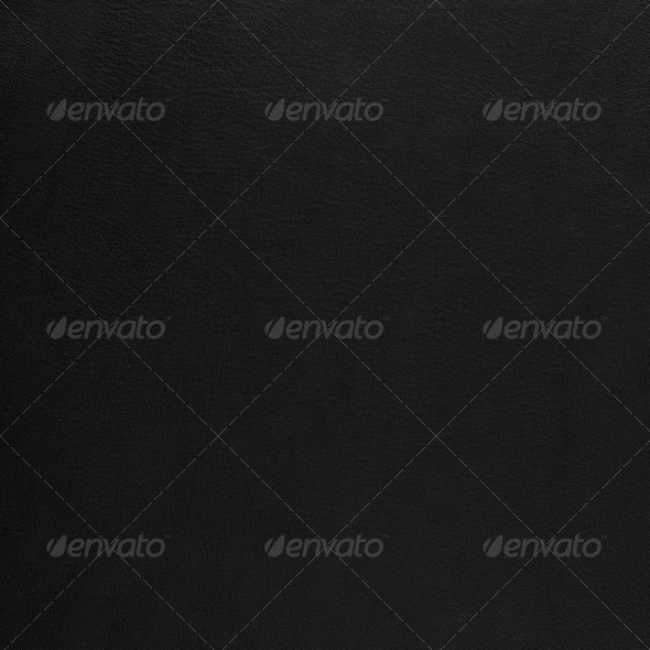 Black leather texture - Stock Photo - Images