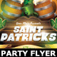 Saint Patricks Party Flyer Template - GraphicRiver Item for Sale