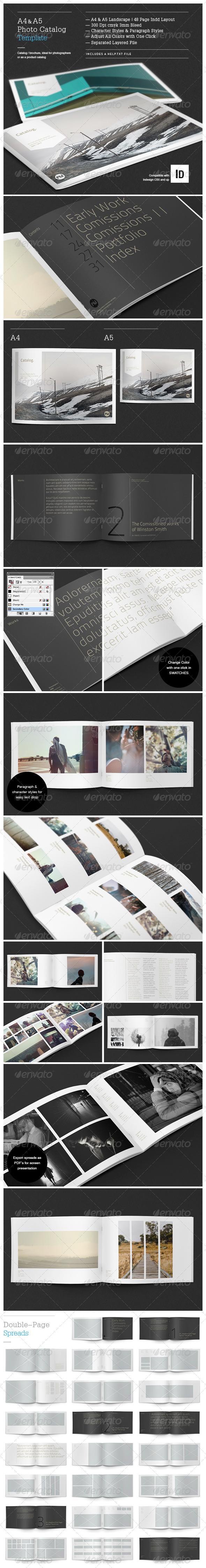 GraphicRiver Minimal Photo Catalog Template 4143498