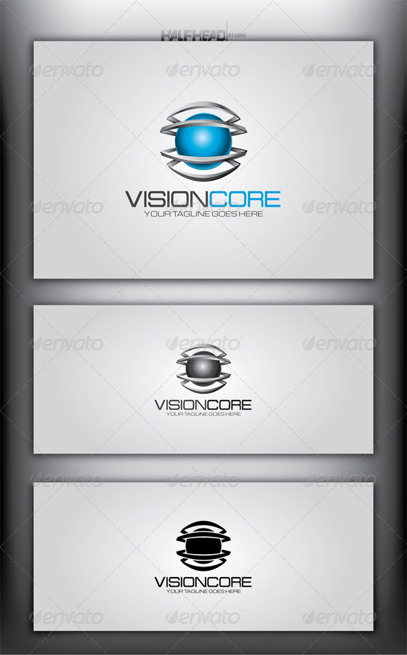 GraphicRiver Vision Core Logo Template 4144331
