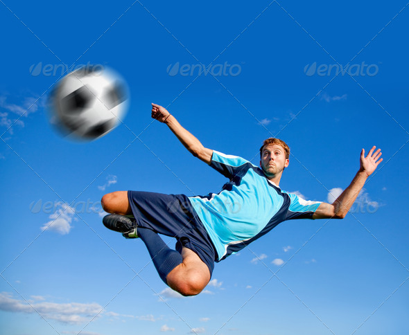 Football player - Stock Photo - Images