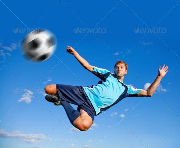 PhotoDune Football player 448127