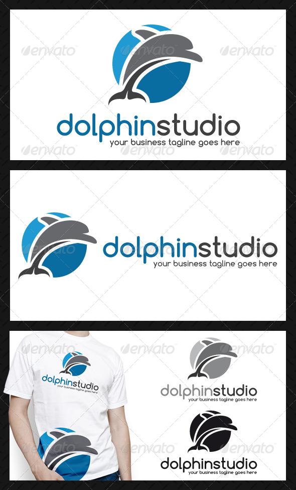 GraphicRiver Dolphin Logo Template 4145660
