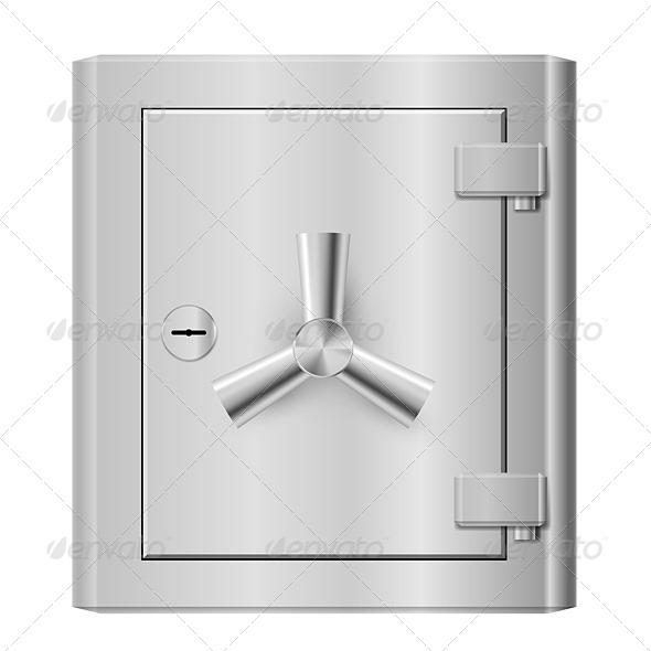GraphicRiver Steel Safe 4145683