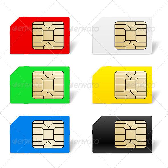 GraphicRiver Sim Card Set 4145684