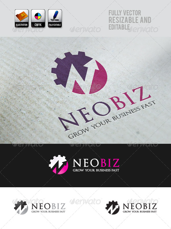 GraphicRiver NeoBiz Logo Template 4145715