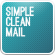 Simple Clean Mail - GraphicRiver Item for Sale