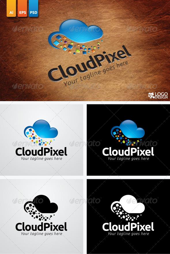 GraphicRiver Cloud Pixel 3828426