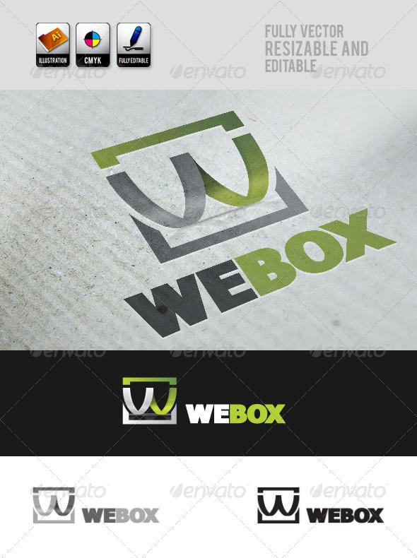 GraphicRiver WeBox Logo Template 4145770