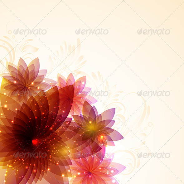 GraphicRiver Floral Abstract 4145774