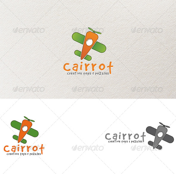 GraphicRiver Carrot Toys Logo Template 4146022