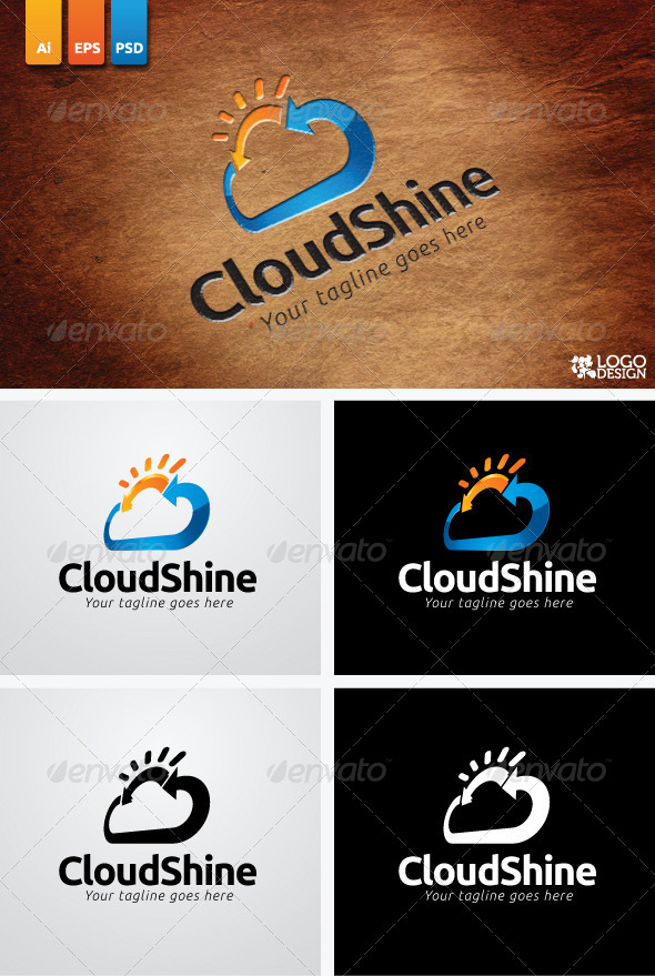 GraphicRiver Cloud Shine 3828439