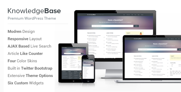 ThemeForest Knowledge Base A WordPress Wiki Theme 4146138