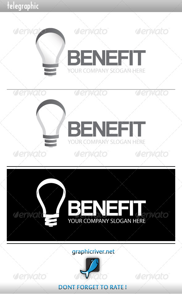 Benefit Idea Logo - Symbols Logo Templates
