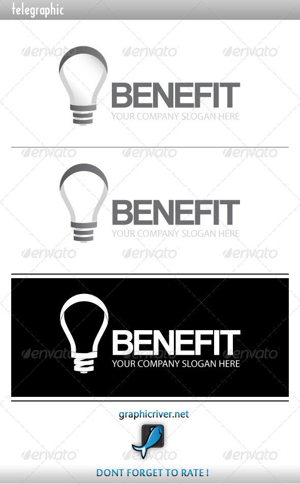 GraphicRiver Benefit Idea Logo 4068790