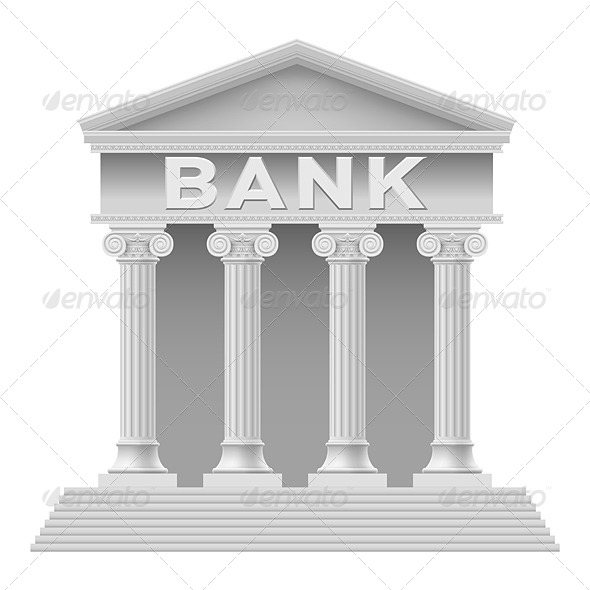 GraphicRiver Bank Building 4147115