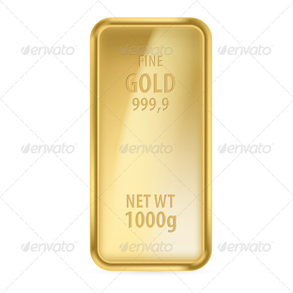 GraphicRiver Gold Bar 4147140