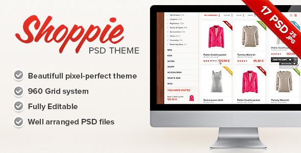 Shoppie - Modern Online Store