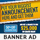Big Event Banner Ads PSD Template - GraphicRiver Item for Sale